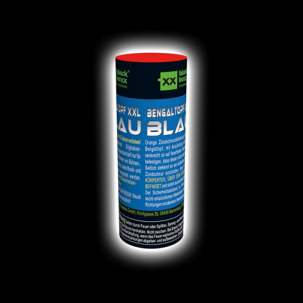Blackboxx Bengaltopf XXL Blau