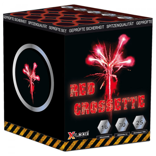 Xplode Red Crossette