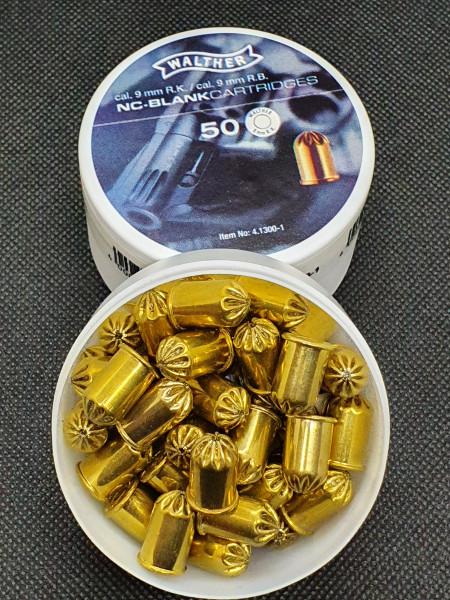 Walther 9mm R.K Platzpatronen 100er