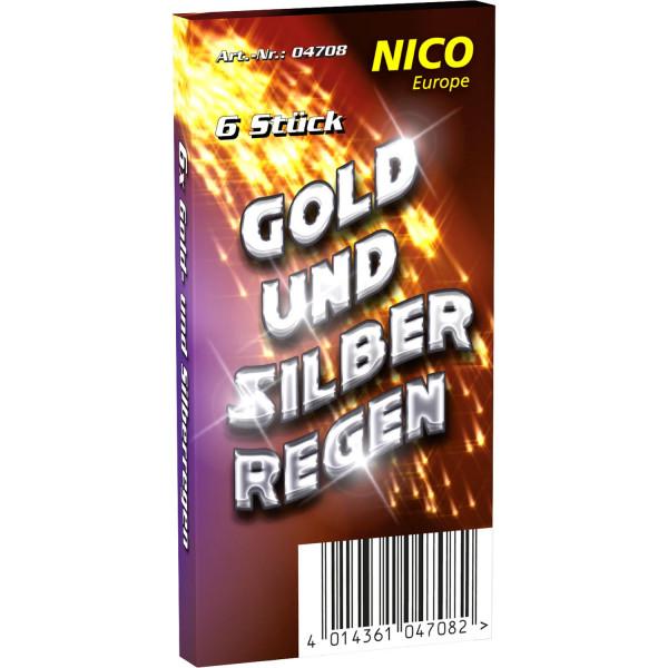 Nico Gold&Silber Regen