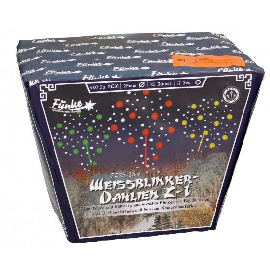 Funke Weissblinker-Dahlien Z1