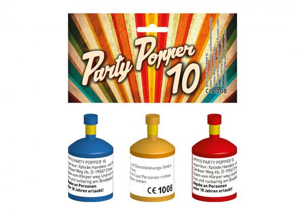 Xplode Party Popper 10er
